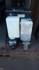 Double acting 12V hydraulic power packs