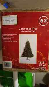 BRAND NEW, CHRISTMAS TREE!! Never opened! Kitchener / Waterloo Kitchener Area image 1