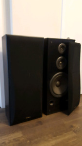 Tower speakers - in good condition