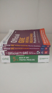 GRE General Test books for sale