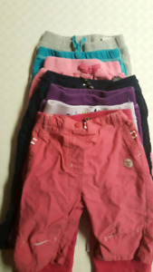 $3 for all! Eight pairs of 12m pants