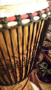 DJEMBE DRUM , Heavy Duty Stand and Carry Bag Cambridge Kitchener Area image 3