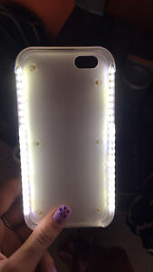 LED light up selfie case for iphone 6/6s