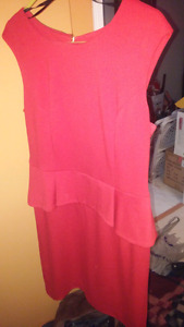 Calvin klein Red dress size 12