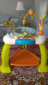 Bright Starts Bouncer and Exersaucer