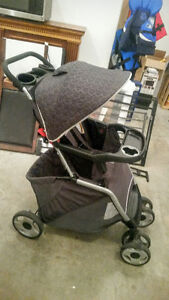 Eddie Bauer Infant Car seat, base and stroller