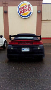 1998 Mitsubishi Eclipse Spyder Trade for dirtbike