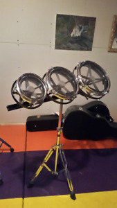 """Dixon Roto Toms - 6"""", 8"""", 10"""", with stand (Used) AMAZING DEAL!"""