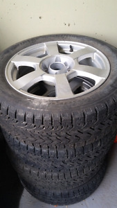 Set of  new tires 205/55/R16