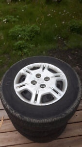 185/70R14 M+S, Tires and Rims