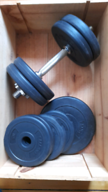 Weights selection