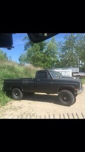 1984 Chevy 4x4 4 inch lift 35