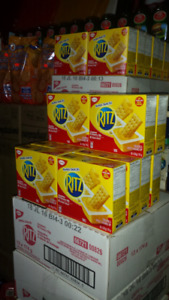 RITZ CHEESE AND CRACKERS $2.00