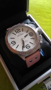 T.W.Steel Pink Women's watch, brand new still in packaging