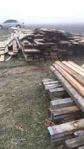 Lots of hard wood boards