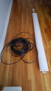 Antenne émettrice  wifi 2 km/WiFi broadcasting antenna 1.5 miles