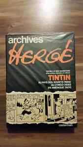 BD Archives Hergé Tome 1 (417 pages), Tintin