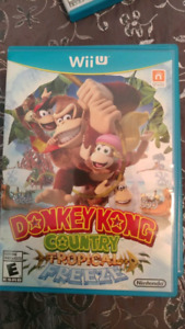 Donkey Kong Tropical Freeze Wii u Wiiu