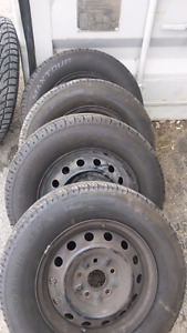 Rims and all season tires from camry