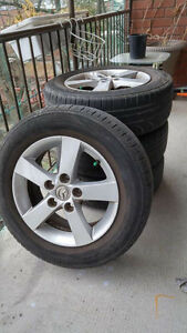 Mazda tires with rims