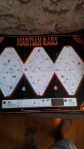 Martian rails boardgame