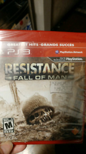 PS3 Resistance Fall of Man brand new sealed