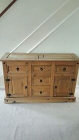 for sale corona mexican sideboard