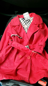 Kids Burberry Trench Coat 2-3T