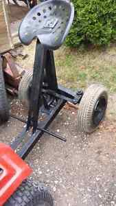 Sulky... for towing behind lawn tractor..$95.00 London Ontario image 2