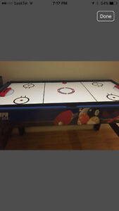 Table with 5 games...perfect for kids