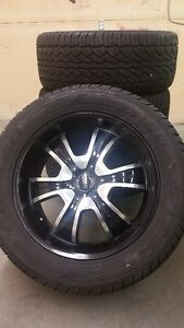 """20"""" American racing wheels and tires"""