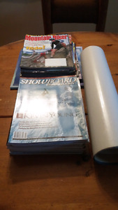 Snowboard and Mountain Bike magazines
