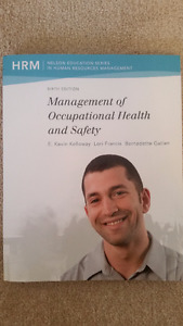 Management of Occupational Health and Safety textbook - $100