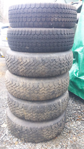Winter tires 205/75/14 and 195/70/14