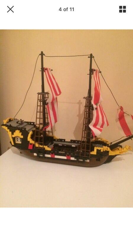 Rare Lego 6285 Black Seas Barracuda Bargain In Longbridge West
