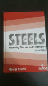 Textbooks for McMaster courses Metallurgy of Iron and Steel