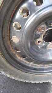 Winter Tires + Rims 235/ 45/17 West Island Greater Montréal image 5