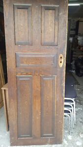 Assorted Antique solid wood doors From $75 each