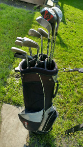 Spalding irons and bombshell woods