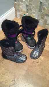 Girls boots Kitchener / Waterloo Kitchener Area image 3