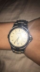 water resistant real GUCCI watch stainless steel