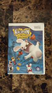 Rayman Raving Rabbits for the Wii