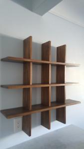 Handmade cubby shelf - custom order