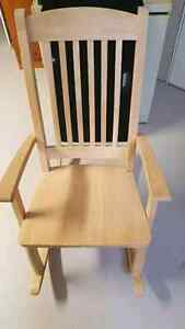 Solid Pine Wood Rocking Chair