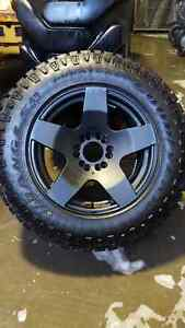 F150 mag roues wheels OR Thunder 18x9 avec pnues Good Year