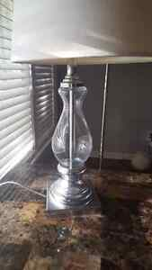Clear table lamp  Windsor Region Ontario image 3