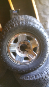 8 x 170 Rims and tires