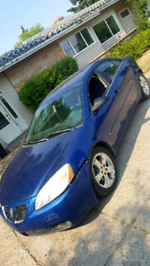 2006 Pontiac g6 GT fully loaded parts or project car