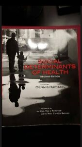 Social Determinants of Health, 2nd Edition by Dennis Raphael Kitchener / Waterloo Kitchener Area image 1