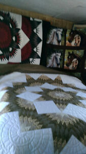 Quilts hand quilted